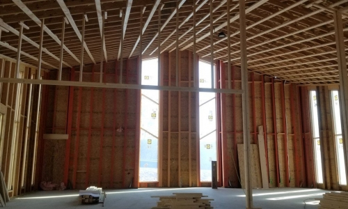 The Commercial Construction Team at Glas Associates Builds New Latvian Church!